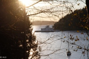 The hardworking Queen of Capilano - our lifeline to the mainland.