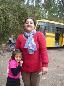 Esha (exec director) & her daughter Ahana