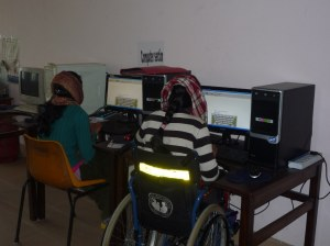 Vocational Training room - computer training for patients