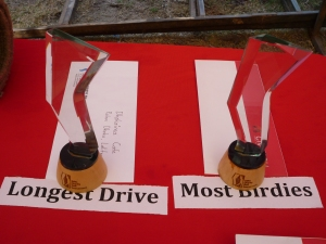 Each winner got a trophy and a prize.  Pretty nice trophies eh?  Fashioned in glass to mirror the 'spine' and the SIRC logo