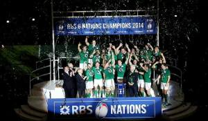 Ireland Six Nations Champs 2014