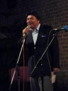 Prachanda Shrestha, SISN President giving his welcome address