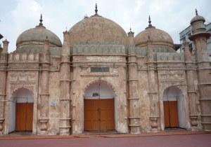 The main prayer hall for the men