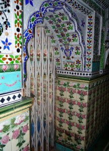 The colours and intricate designs were just beautiful