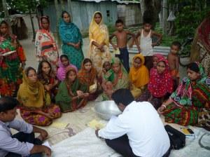 Dabi village meeting underway in Horipur