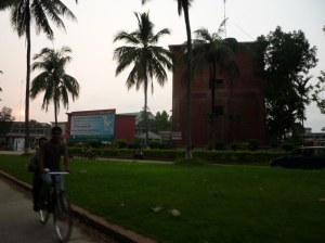 The Bangladesh Agricultural University in Mymensingh, considered the largest agricultural college in Asia.