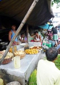 Tea & snack stall