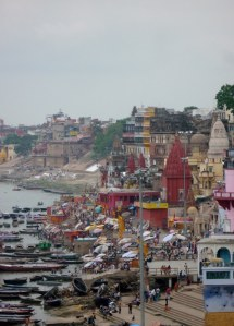 The neighbouring ghat