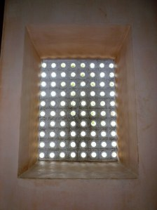 Another glass-less screened window - a simple design this time