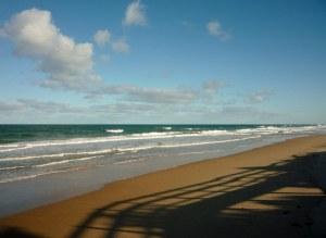 Seaspray at the start of the 90-mile beach.