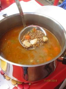 Lentil soup - yum