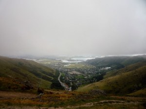 View of Christchurch from the summit of the Bridle Path Walk