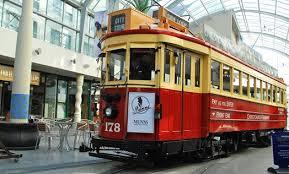 Tram stop near New Regent Street