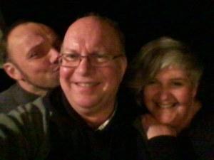 Yes, it was as goofy a night as it looks :-)