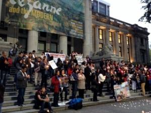 Vancouver vigil 2