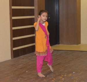 Esha's daughter Aahana is a great dancer, and performed for the audience too!  She's getting tall!  Photo credit SIRC