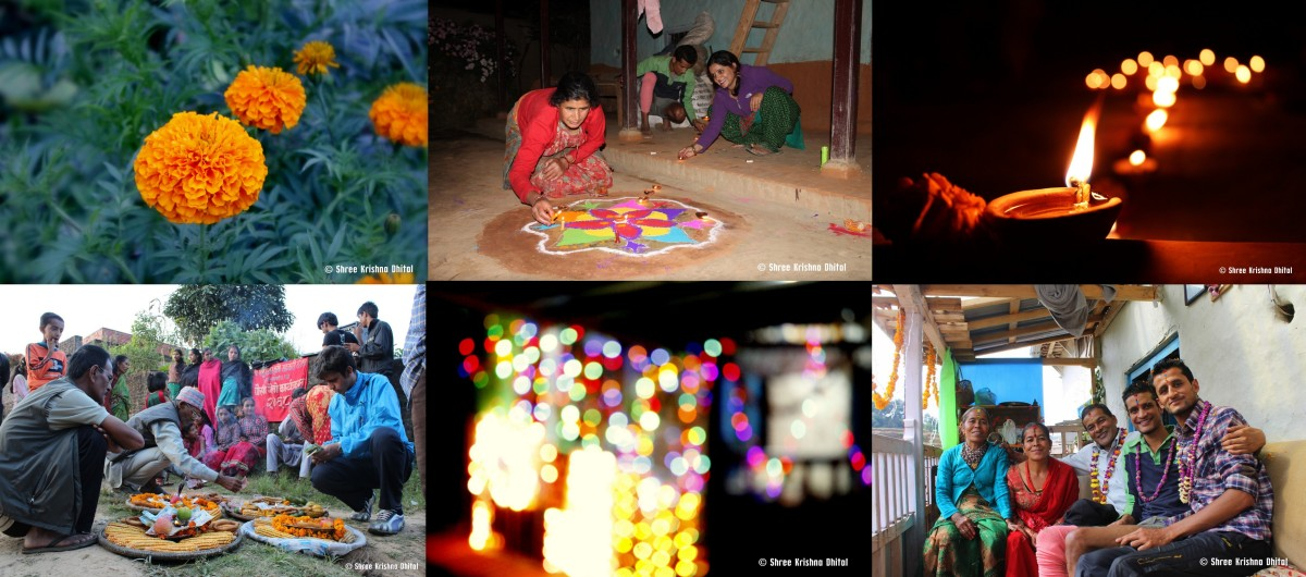 Tihar- Festival of Flowers and Lights