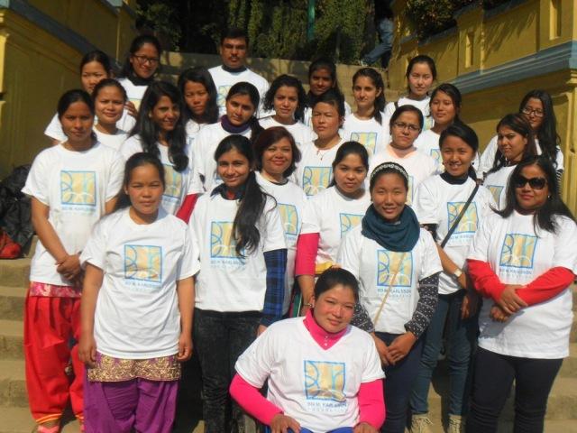 BMKF scholars and volunteer board from Mahilaa Sikshya Nidi, BMKF's Nepal sister organization, gathered earlier this month for a picnic at Balaju Gardens in Kathmandu.