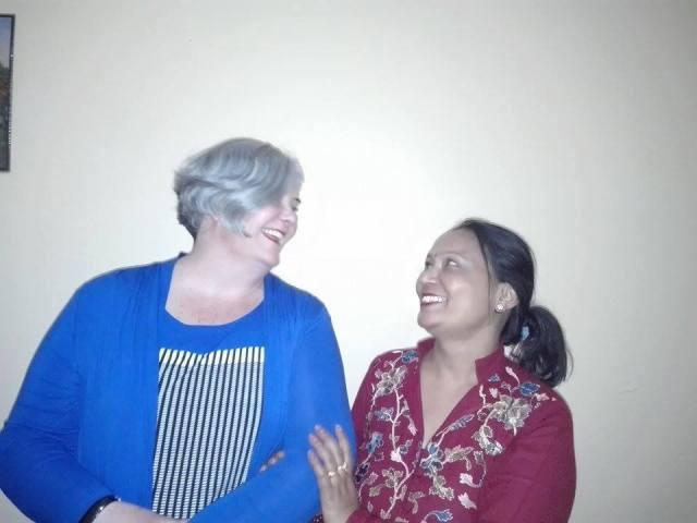 Sangita and I