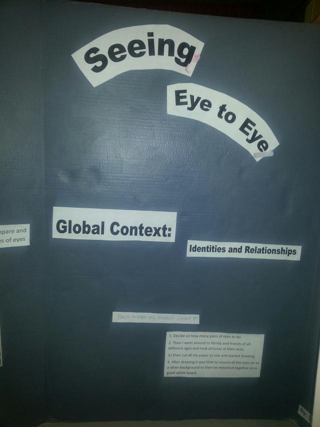 Eyes board