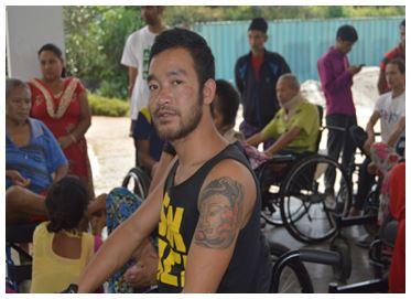 Kesh Bahadur Gurung. Photo credit SIRC