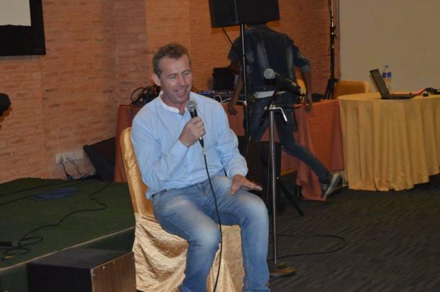 Stephen singing