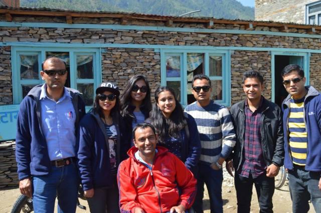 SIRC team in Jumla