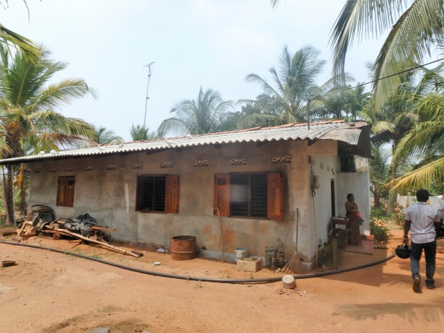 One of the India-sponsored replacement homes I visited recently