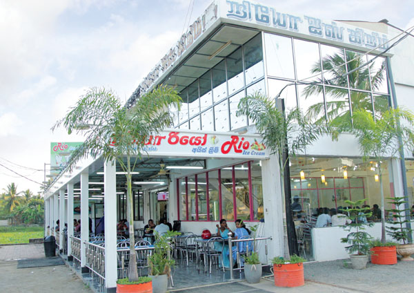 Rios - a Jaffna institution famous for it's ice cream